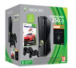 Console Xbox 360 250 Go Microsoft + Forza Motorsport 4 + Skyrim + 2 manettes sans fil